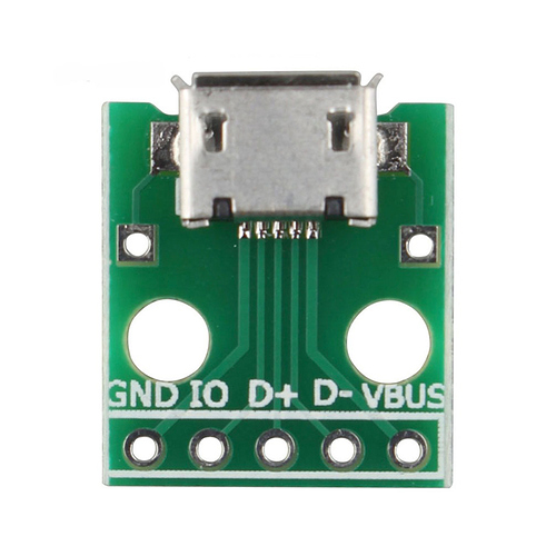 library for micro usb connector usbmicro 5s b symbol and