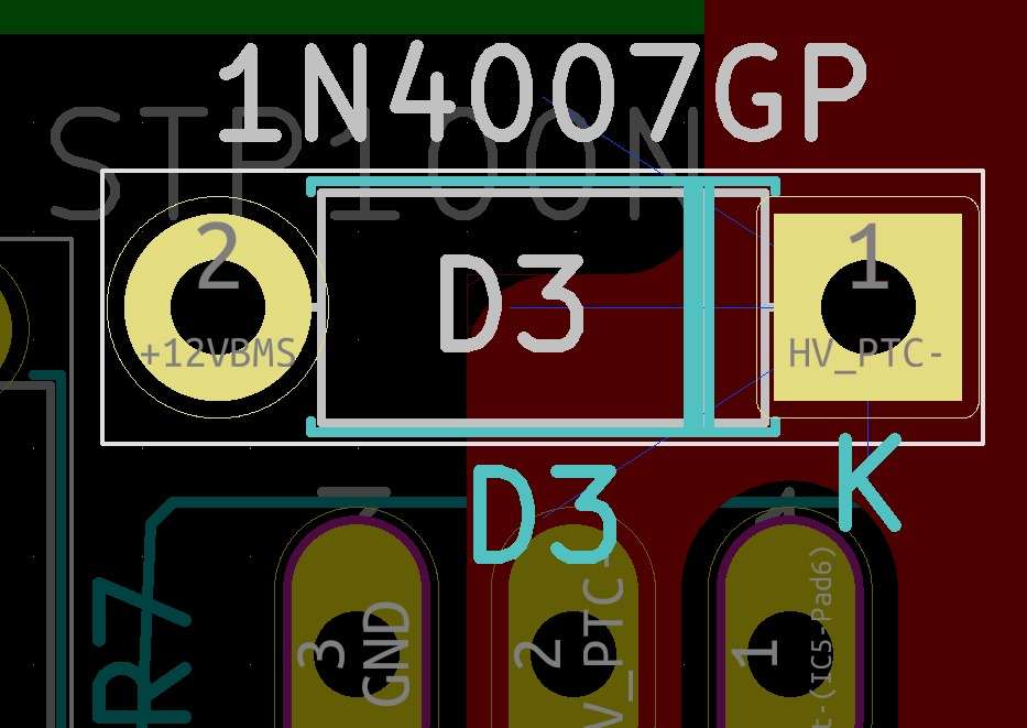Other net used in PCBnew than indicated in EEschema - Layout