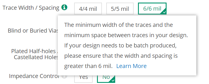 Spacing: What does 4/4mil mean? - Manufacturing - KiCad info Forums