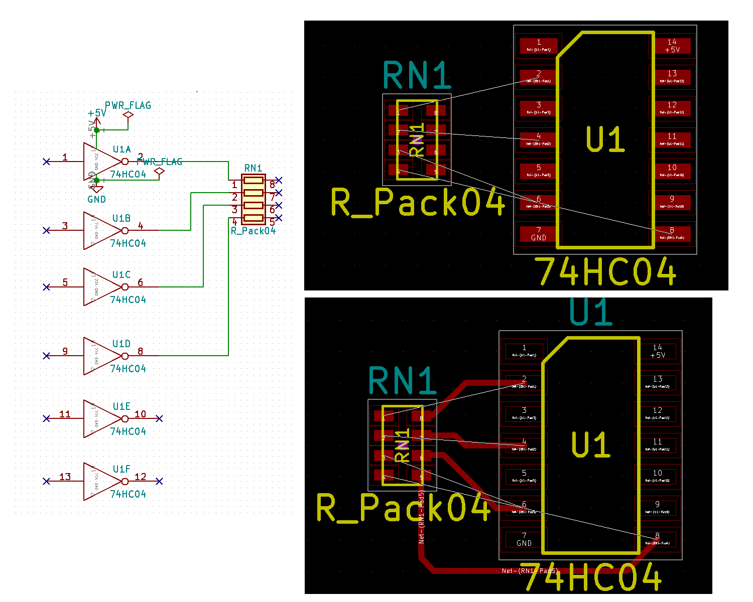 How to back annotate for wiring change - Layout - KiCad info Forums