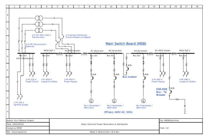 U0026quot One Line U0026quot     Oneline Sch Lib For Commercial  Industrial