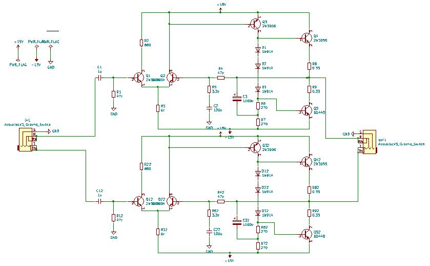 inputoutput jack wiring  schematic  kicad forums