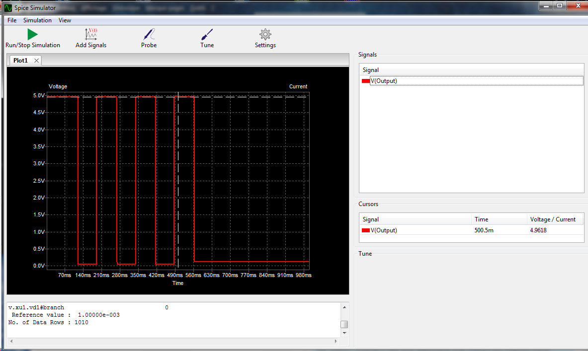 Simulation measurements - Simulation (Ngspice) - KiCad info
