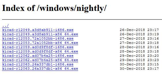 Pre 5 1 Windows Nightlies - Software - KiCad info Forums