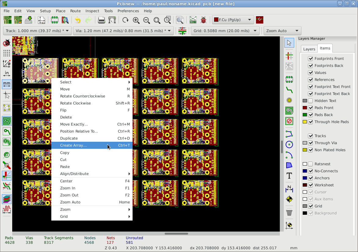 Pcb panelizing in KiCAD v5 - Layout - KiCad info Forums
