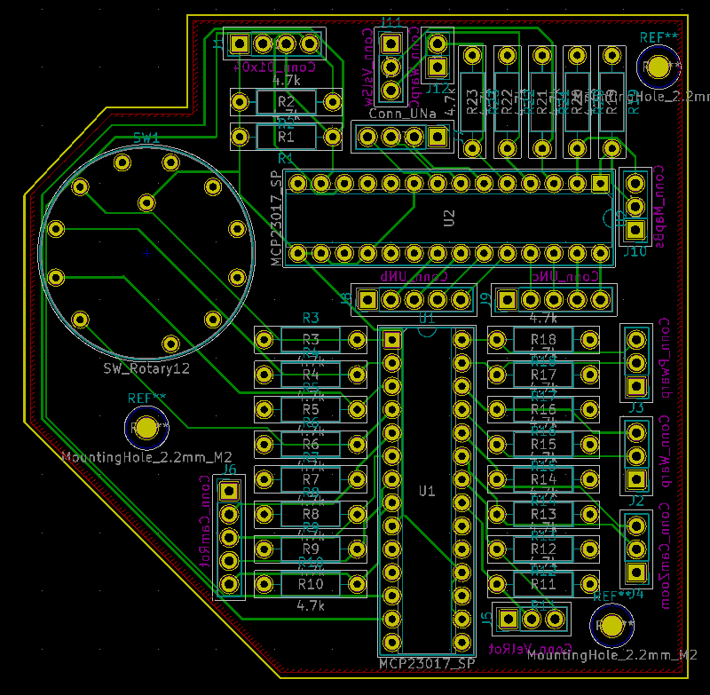 Realistic design rules for a homemade PCB - Layout - KiCad
