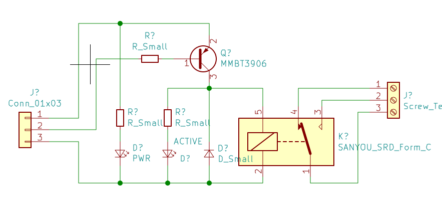 Schematic for 1 Channel Relay Module - Projects - KiCad.info Forums | Relay Schematic Diagram |  | KiCad.info Forums